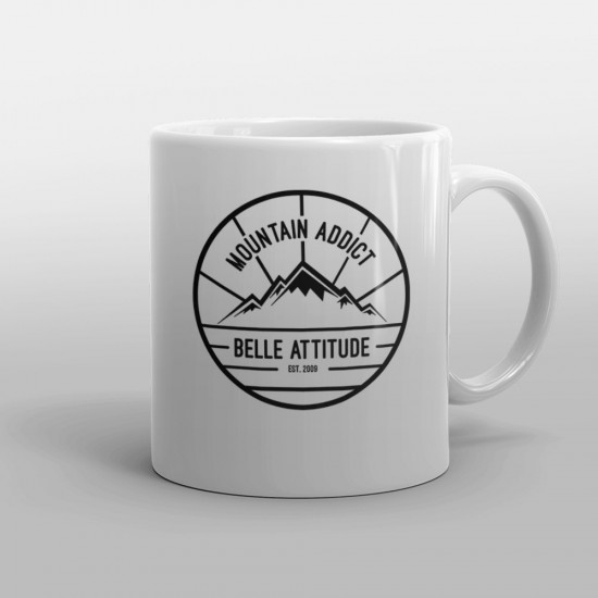 Mug Belle Attitude MOUNTAIN ADDICT