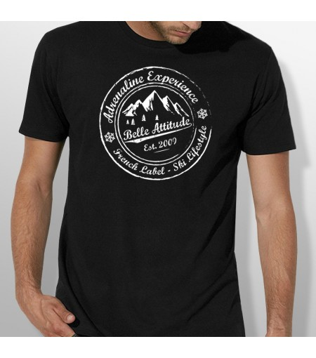 Tshirt ski ADRENALINE EXPERIENCE homme