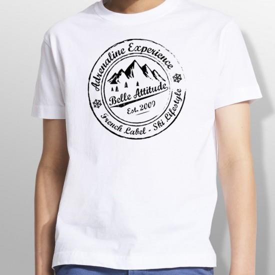 Tshirt ski ADRENALINE EXPERIENCE enfant