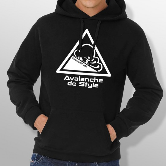 Sweat Capuche ski AVALANCHE homme