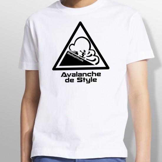Tshirt ski AVALANCHE enfant