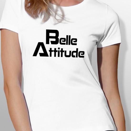 Tshirt ski BELLE ATTITUDE BLACK femme