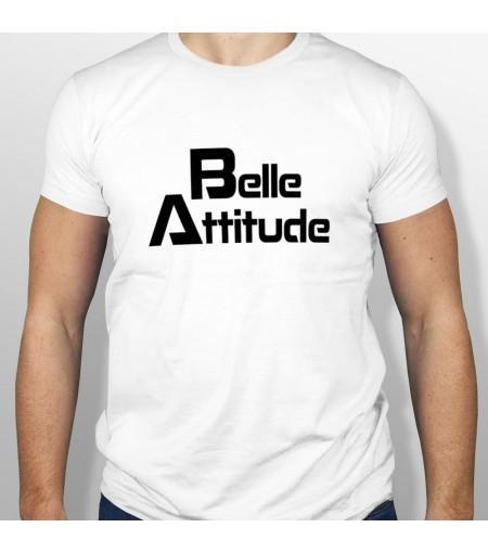 Tshirt ski BELLE ATTITUDE BLACK homme