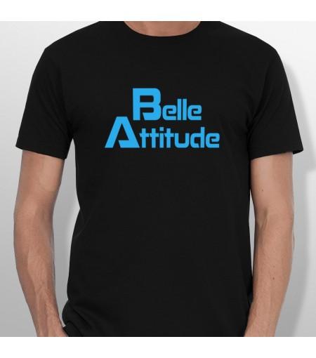 Tshirt ski BELLE ATTITUDE BLUE homme