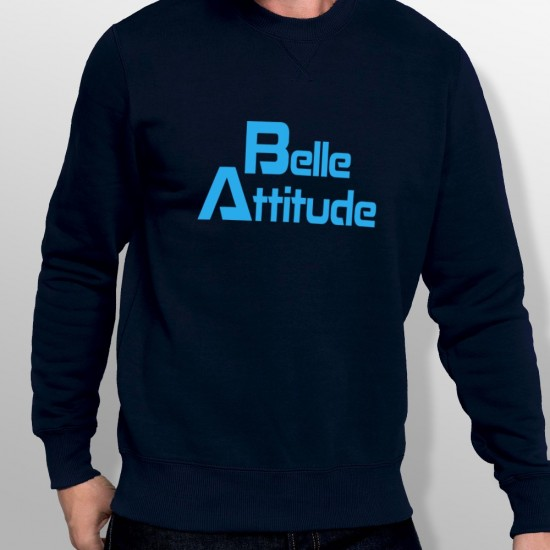 Sweat ski BELLE ATTITUDE BLUE homme