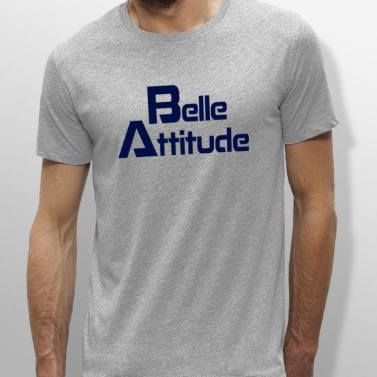 Tshirt ski BELLE ATTITUDE DARKBLUE homme