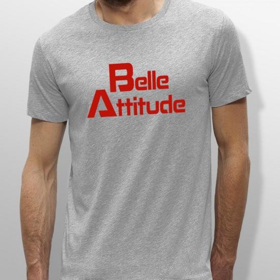 T-shirt Belle Attitude Rouge