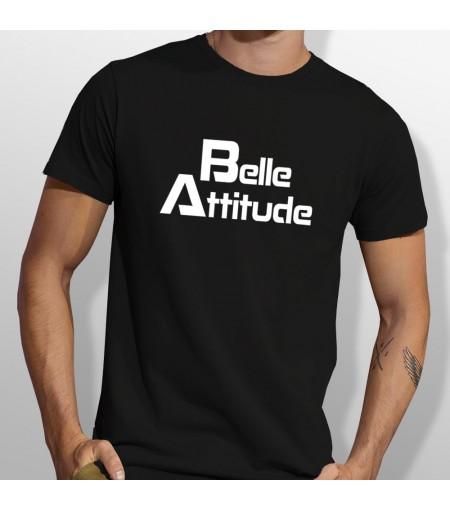 Tshirt ski Belle attitude Blanc