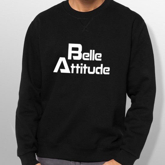 Sweat ski BELLE ATTITUDE WHITE homme