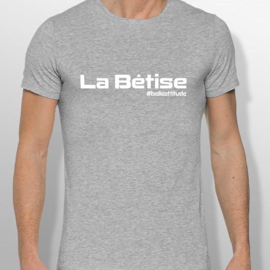 Tshirt ski LA BÊTISE homme