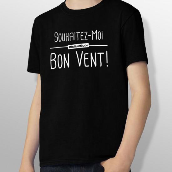 Tshirt BON VENT enfant