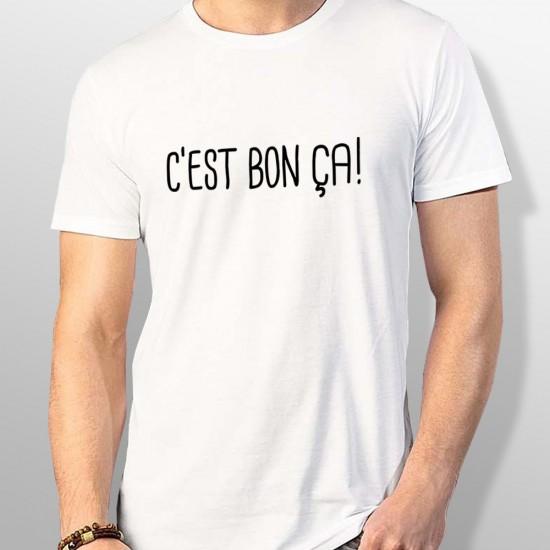 Tshirt ski C'EST BON ÇA homme