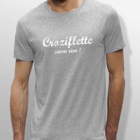 Tshirt ski CROZIFLETTE homme