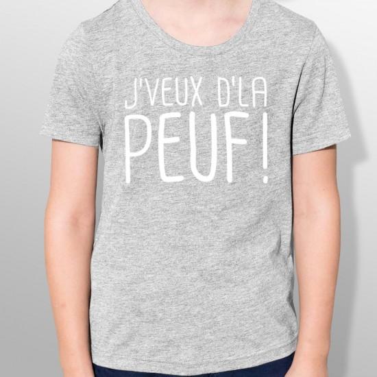 Tshirt ski DE LA PEUF enfant