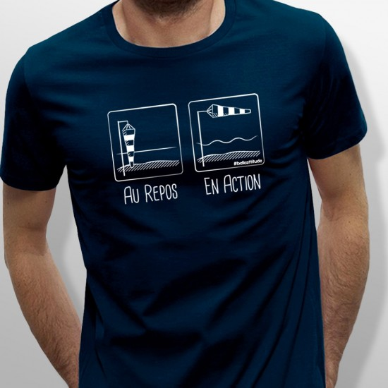 Tshirt EN ACTION homme