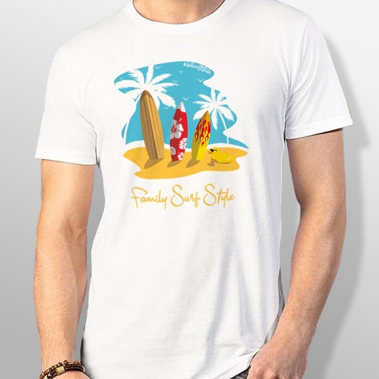 Tshirt FAMILY SURF STYLE homme