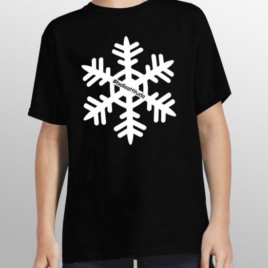 Tshirt ski FLOCON enfant