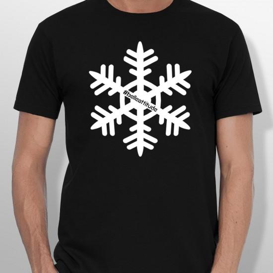 Tshirt ski FLOCON homme