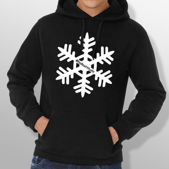 Sweat Capuche ski FLOCON homme