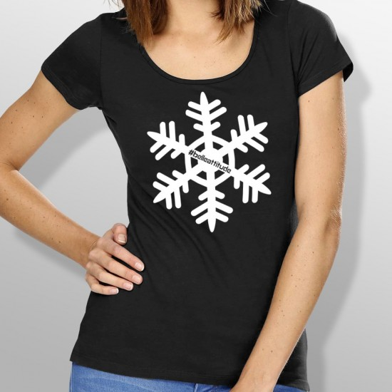 Tshirt ski FLOCON femme