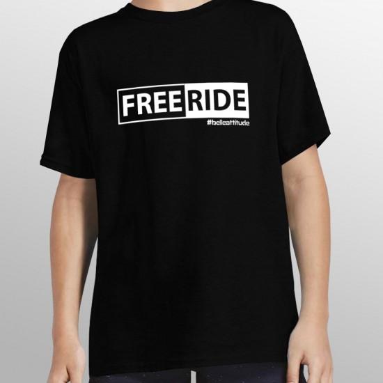 Tshirt ski FREERIDE enfant
