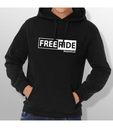 Sweat Capuche ski FREERIDE homme