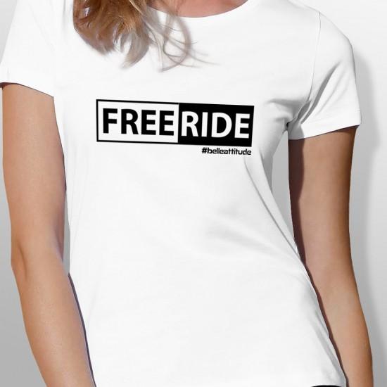 Tshirt ski FREERIDE femme