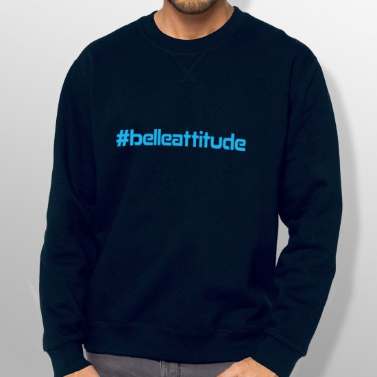 Sweat ski HASHTAG BLUE homme