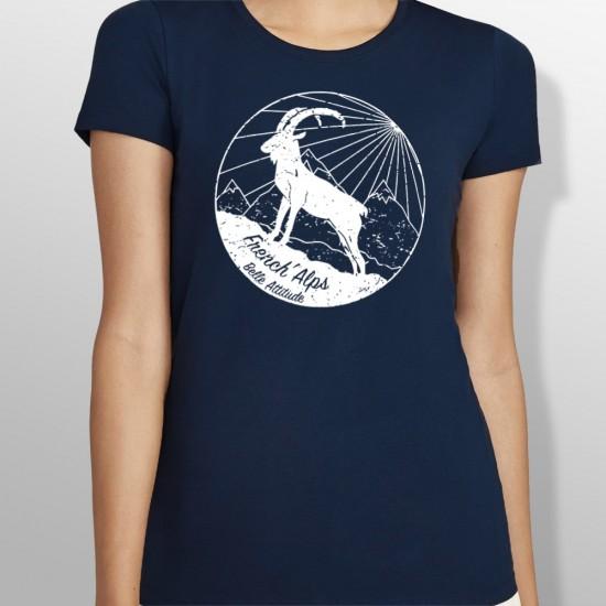 Tshirt ski IBEX femme
