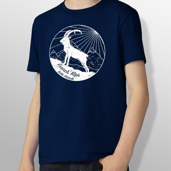 Tshirt ski IBEX enfant