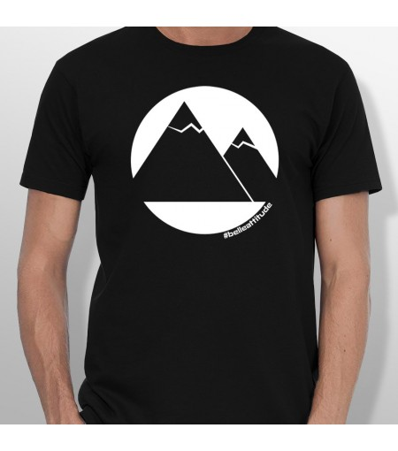 Tshirt ski MOUNTAINS homme