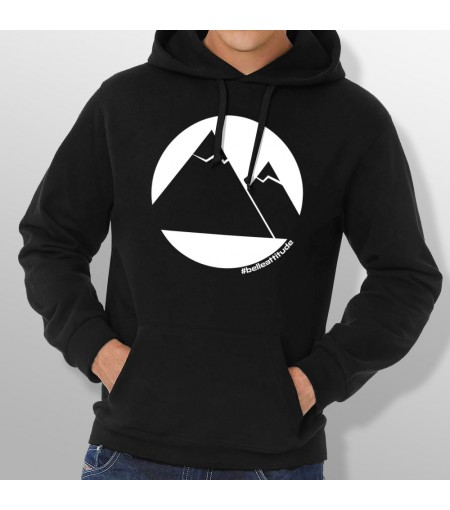 Sweat Capuche ski MOUNTAINS homme