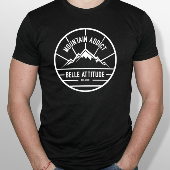 Tshirt ski MOUNTAIN ADDICT homme