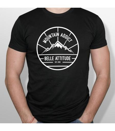 Tshirt ski MOUNTAIN ADDICT homme