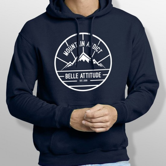 Sweat Capuche ski MOUNTAIN ADDICT homme