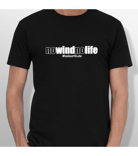 Tshirt NO WIND NO LIFE homme