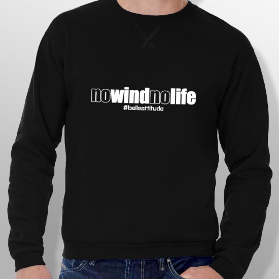 Sweat NO WIND NO LIFE homme