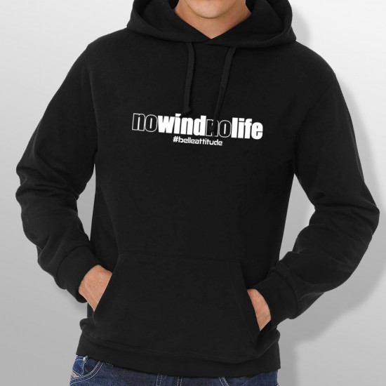 Sweat Capuche NO WIND NO LIFE homme