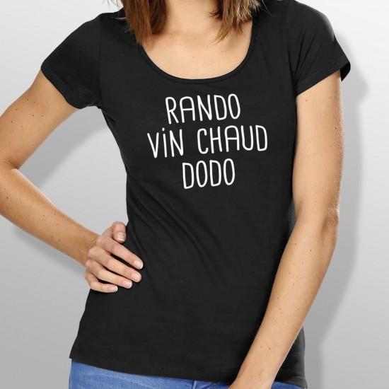 Tshirt ski RANDO femme