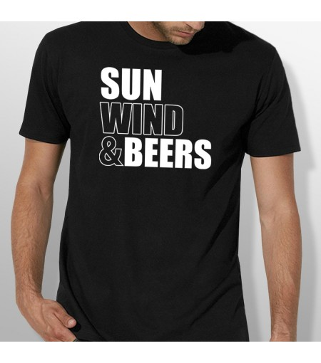 Tshirt SUN WIND AND BEERS homme