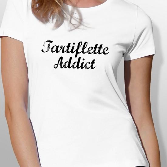 Tshirt ski TARTIFLETTE femme