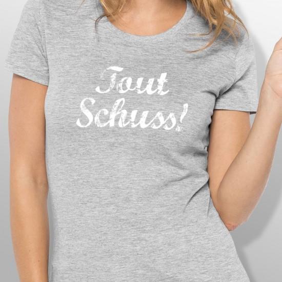 Tshirt ski TOUT SCHUSS femme