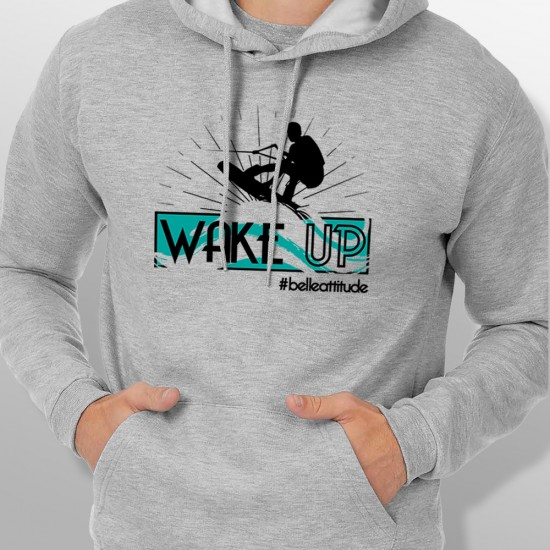 Sweat Capuche WAKE homme