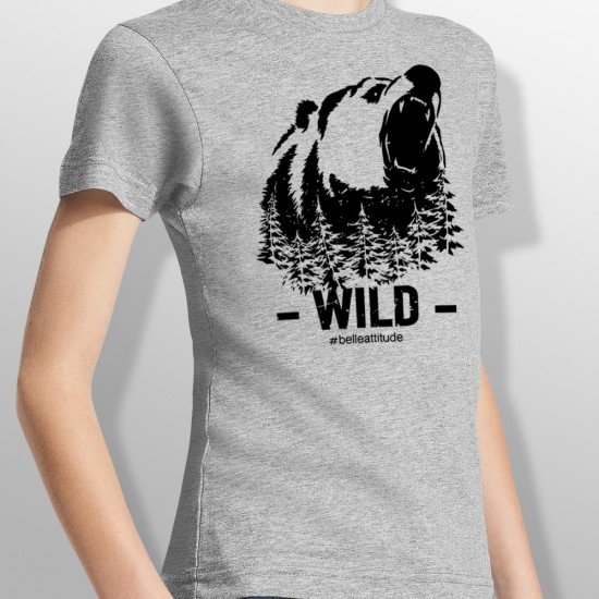 Tshirt WILD enfant