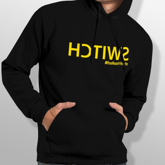 Sweat Capuche ski SWITCH YELLOW homme