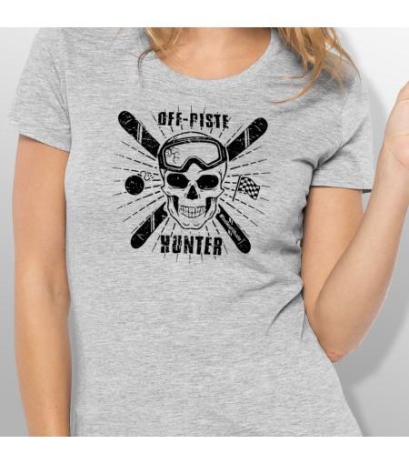 Tshirt ski OFF PISTE femme