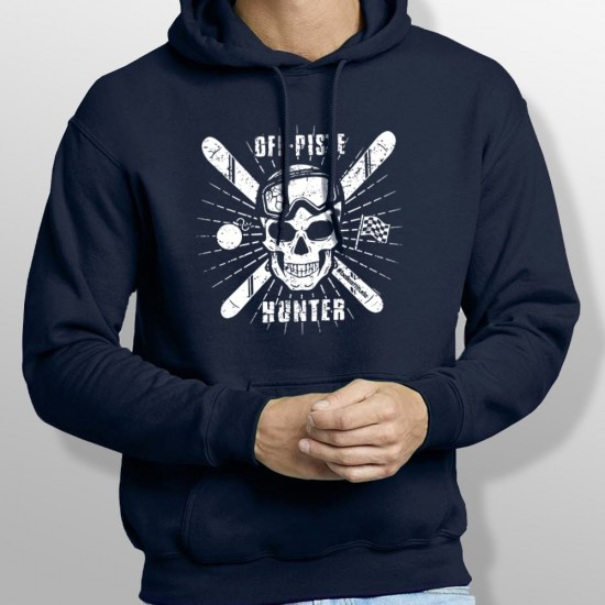 Sweat Capuche ski OFF PISTE homme